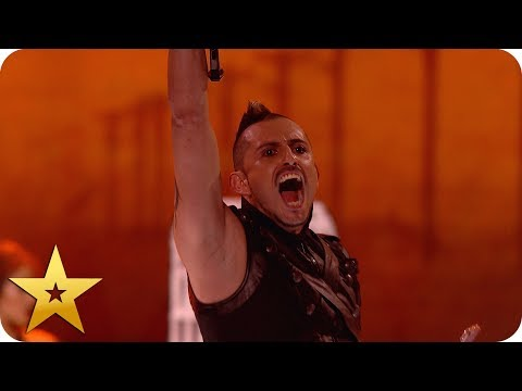 Deadly Games perform their MOST DANGEROUS crossbow stunt yet! | BGT: The Champions