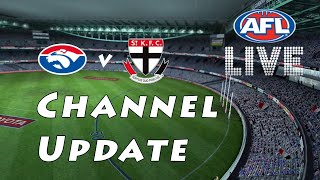 Channel Update | AFL Live