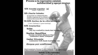 Charla-Coloquio en San Fernando de Henares, Organiza: Asamblea Anti-represiva de Sanfer y Coslada.
