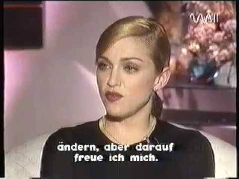 Madonna - Rare Interview with Heike Makatsch - PART 4