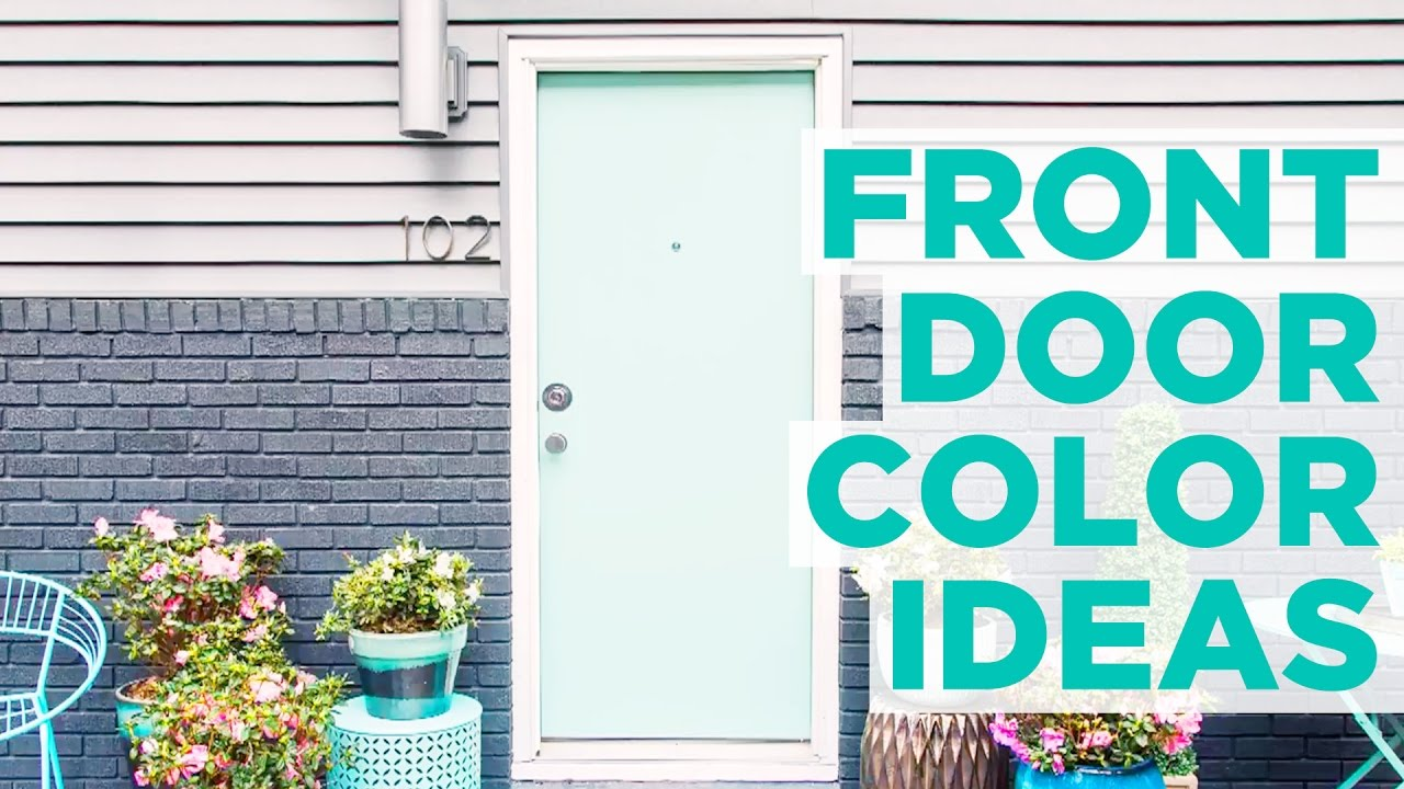 Front Door Color Ideas Hgtv Youtube