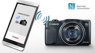 Connect Canon WiFi Camera to Smartphone app
