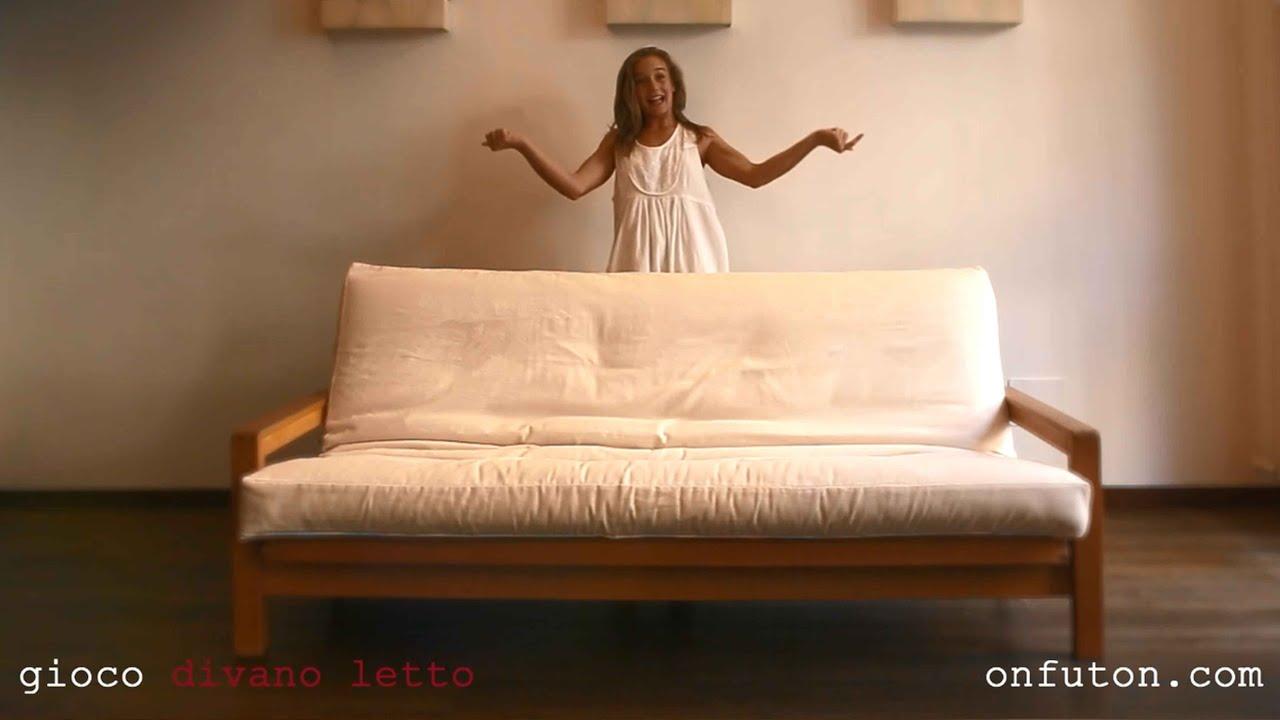 divani letto Onfuton design naturale GIOCO - YouTube