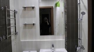 видео Ниша в ванной комнате - фото и как сделать из гипсокартона