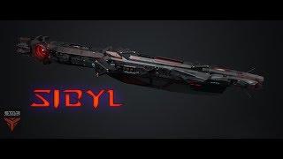 Star Conflict - Эсминец Sibyl  | обновленный фит | upd2