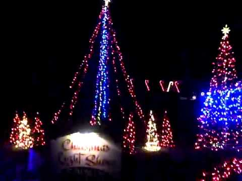 Coolest Christmas Lights in Longview - YouTube