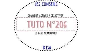 [Tuto n°206] - Comment activer/désactiver le pavé numérique? | Les Conseils d'Isa