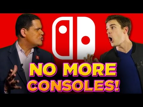 Thumbnail: Should Nintendo STOP Making Consoles? - DeadLock (ft. Reggie from Nintendo)