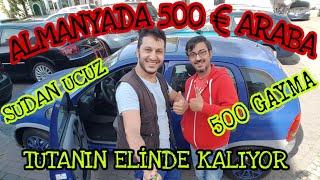 ALMANYADA 500€ ARABA BULDUK .. YOK BÖYLE BİR ŞEY