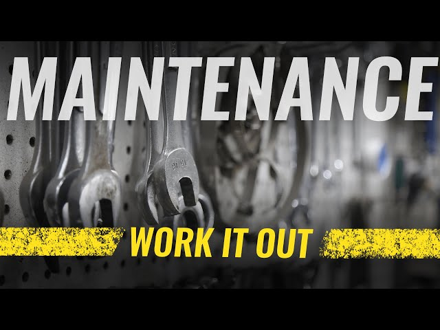 CITY Maintenance | Work It Out