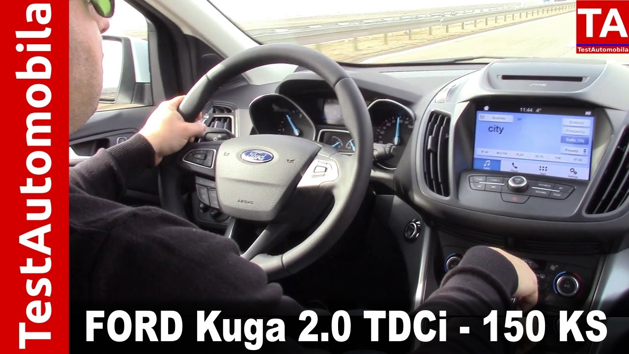 ford kuga 2 0 tdci kompakt suv test model 2017 test. Black Bedroom Furniture Sets. Home Design Ideas