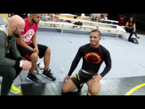 LeLeo Code BJJ INVITATIONAL 3 Title Fight Jason Valle Vs Tony Way