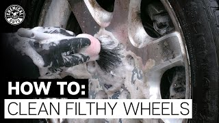How To Clean Really Dirty Old Wheels! - Chemical Guys