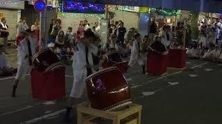 枝光本町祇園山笠 太鼓競演会(2018年7月)