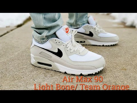 Air Max 90 Light Bone / Team Orange 2021 Unboxing & On Feet Polo / Nike Clothing Haul