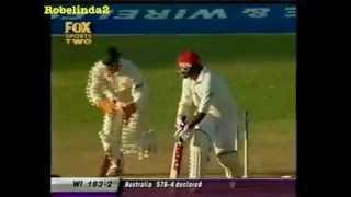 Brian Lara 91 vs Australia 2nd test 2003