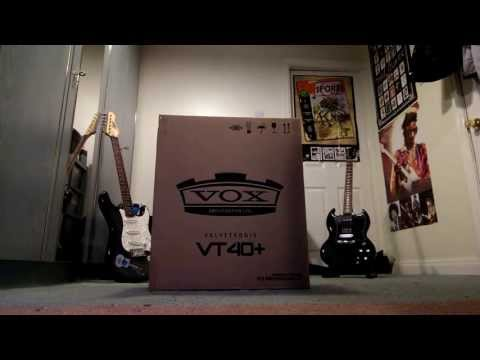 Unboxing of the Vox VT40+ Guitar Amplifier