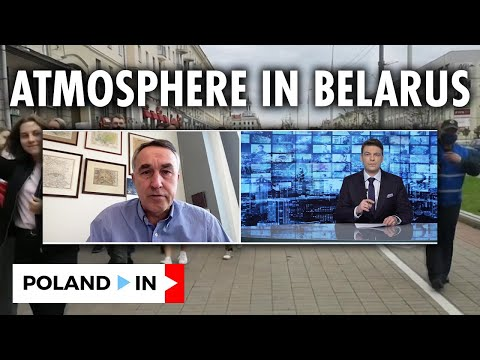 POLITICAL ATMOSPHERE IN BELARUS - WORLD NEWS GUESTS - PETRAS AUŠTREVIČIUS | 24.03.2021 | Poland In