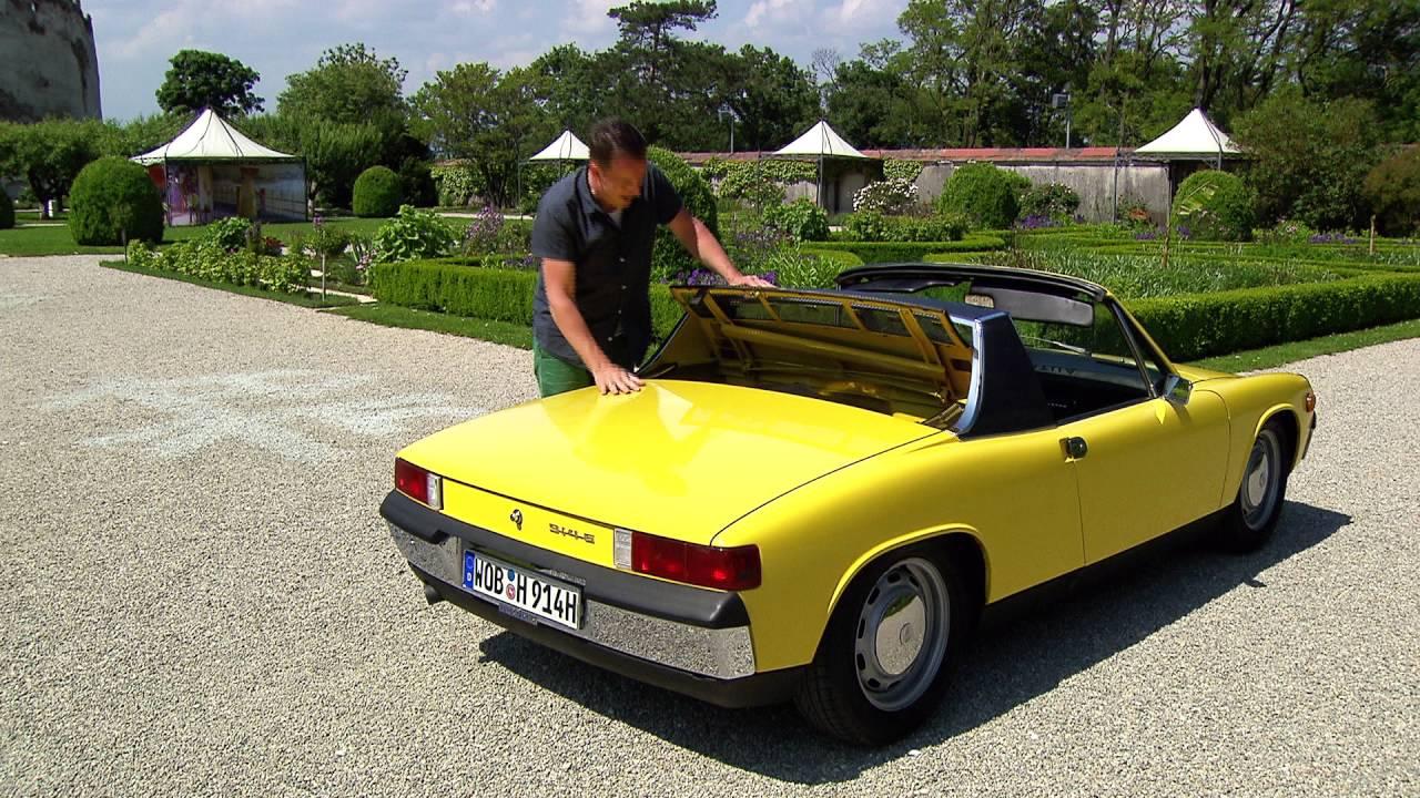 Autostadt // ZeitHaus-Meilenstein VW-Porsche 914/6 - YouTube