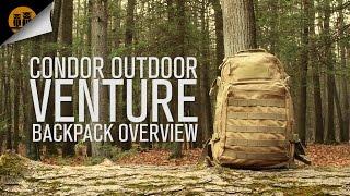 Condor Outdoor Venture   Tactical Backpack   Field Overview