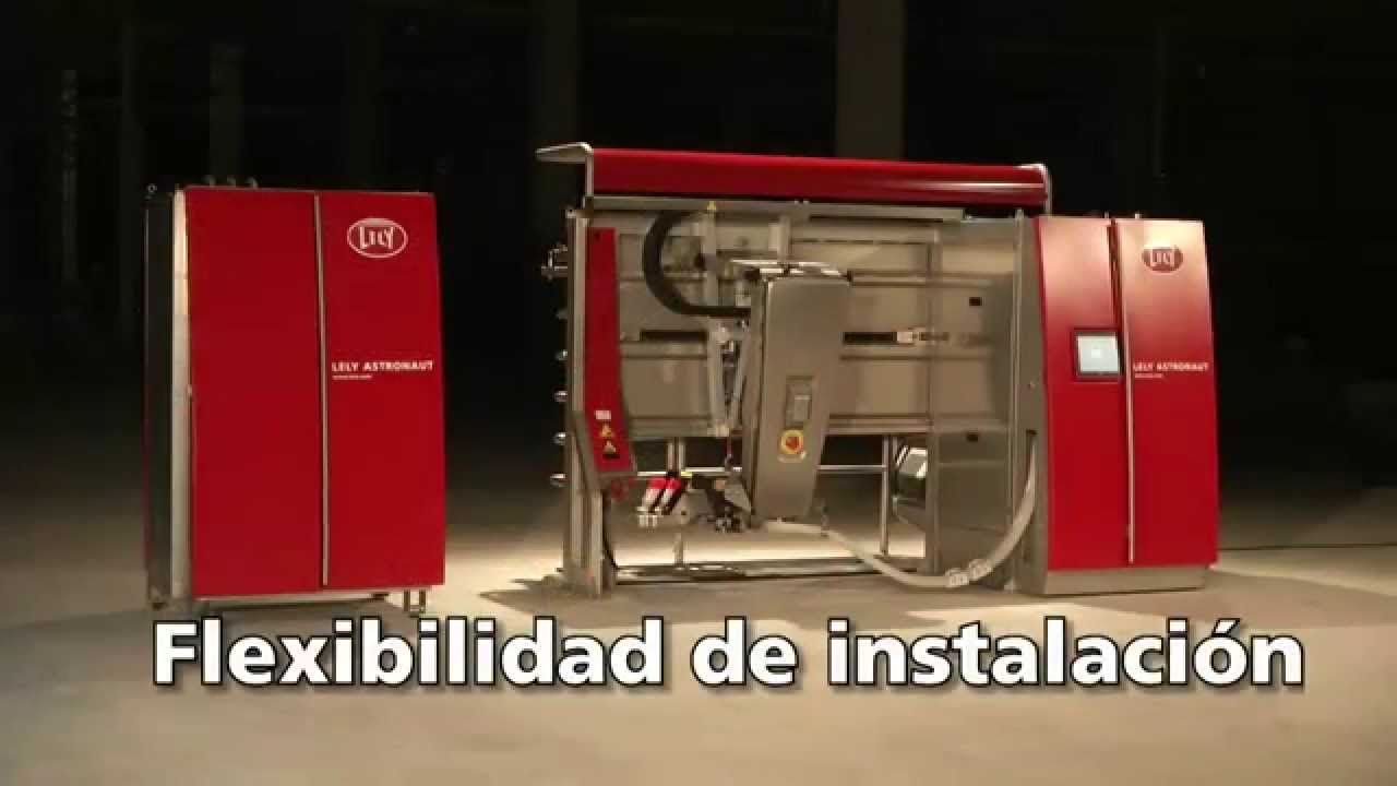 Lely Astronaut A4 - Milking robot highlights (Spanish)