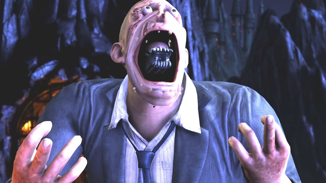 Mortal Kombat XL - Bald Unmasked LeatherFace Performs All ...