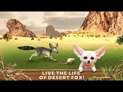 🦊Fennec Fox Simulator 3D Cute Animal Game- By Virtual Animals World-Android