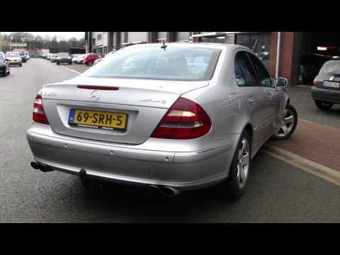 Mercedes W211 E400 Cdi Duplex Exhaust Sound Uitlaat Sportuitlaat By