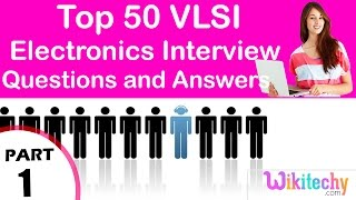 top 50 vlsi ece technical interview questions and answers tutorial for fresher experienced videos