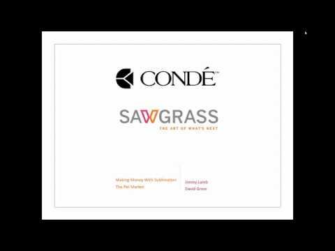Conde & Sawgrass Presents: Making Money In The Pet Market Webinar