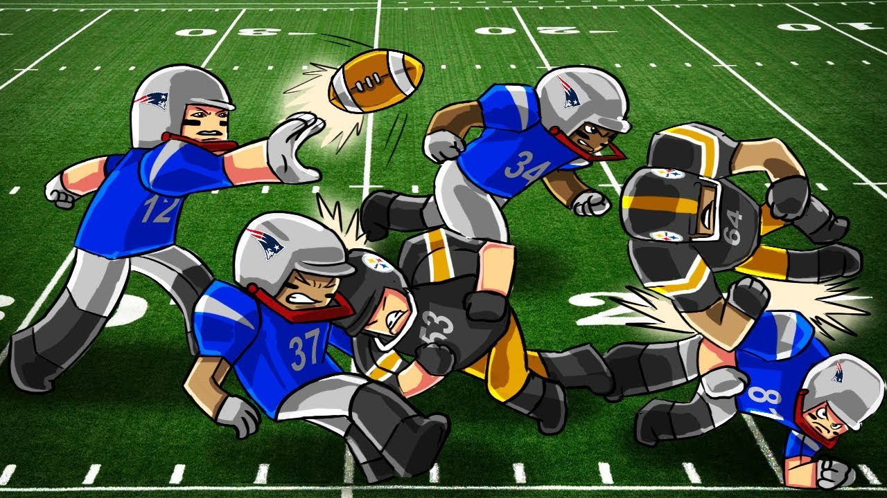 Roblox Nfl Football Patriots Vs Steelers Roblox Football Game Roblox Nfl Football Steelers Vs Patriots Roblox Nfl Highlights Youtube
