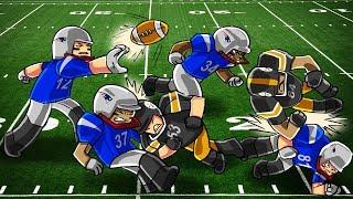 Roblox | NFL FOOTBALL: Steelers vs Patriots! (Roblox NFL Highlights)