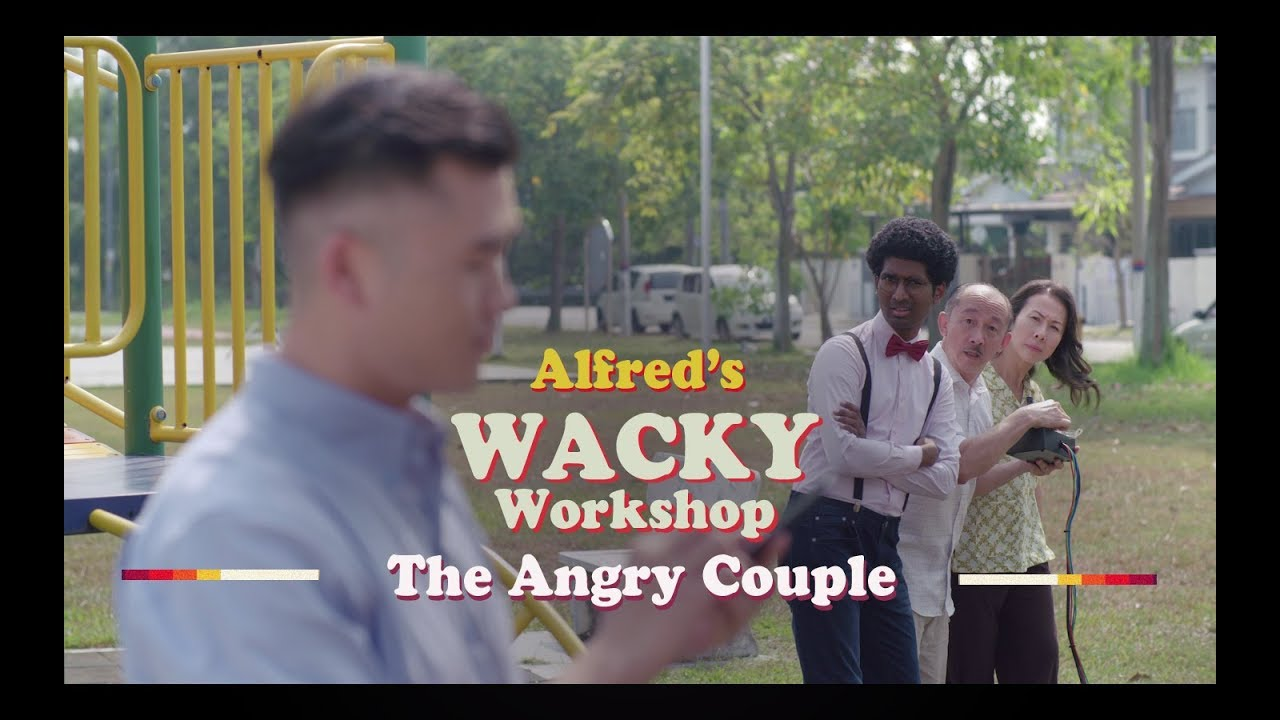 "The Angry Couple | ""Alfred's Wacky Workshop"" EP1"