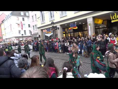 The Swabian--Alemannic Fastnacht in Freiburg, Germany_ Part 3
