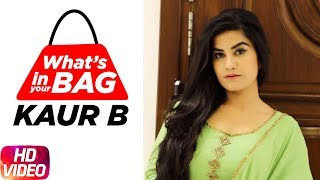 Kaur B | What's In Your Bag | Speed Records