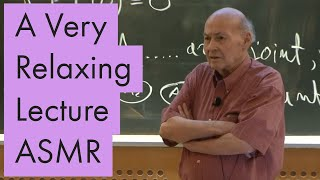 Unintentional ASMR | Marvin Minsky gives a super relaxing lecture on Mathematics for MIT screenshot 3