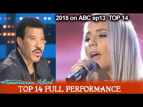 """Gabby Barrett sings """"The Climb"""" COMES OUT FROM STAR WASH  A STAR  IS BORN American Idol 2018 Top 14"""