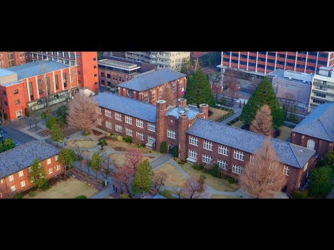 RIKKYO UNIVERSITY  (Drone 4K)【立教大学公式】