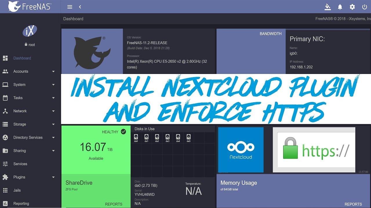 Nextcloud vs freenas