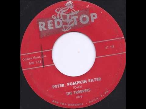 TROUPERS - PETER, PUMPKIN EATER / NON SUPPORT - RED TOP 118 - 1959