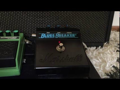 Marshall Bluesbreaker Quick Demo - John Mayer Gravity WTLI Intro