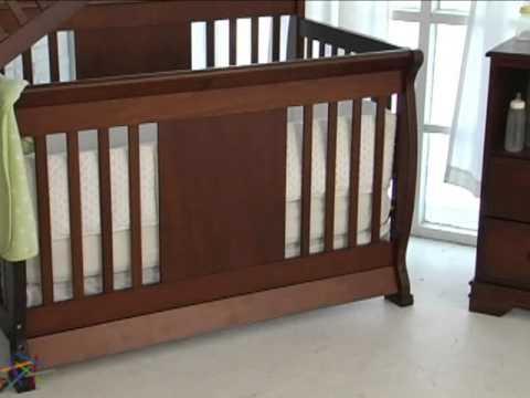 Nursery Smart Chelsea 4 in 1 Crib Collection - Product Review Video