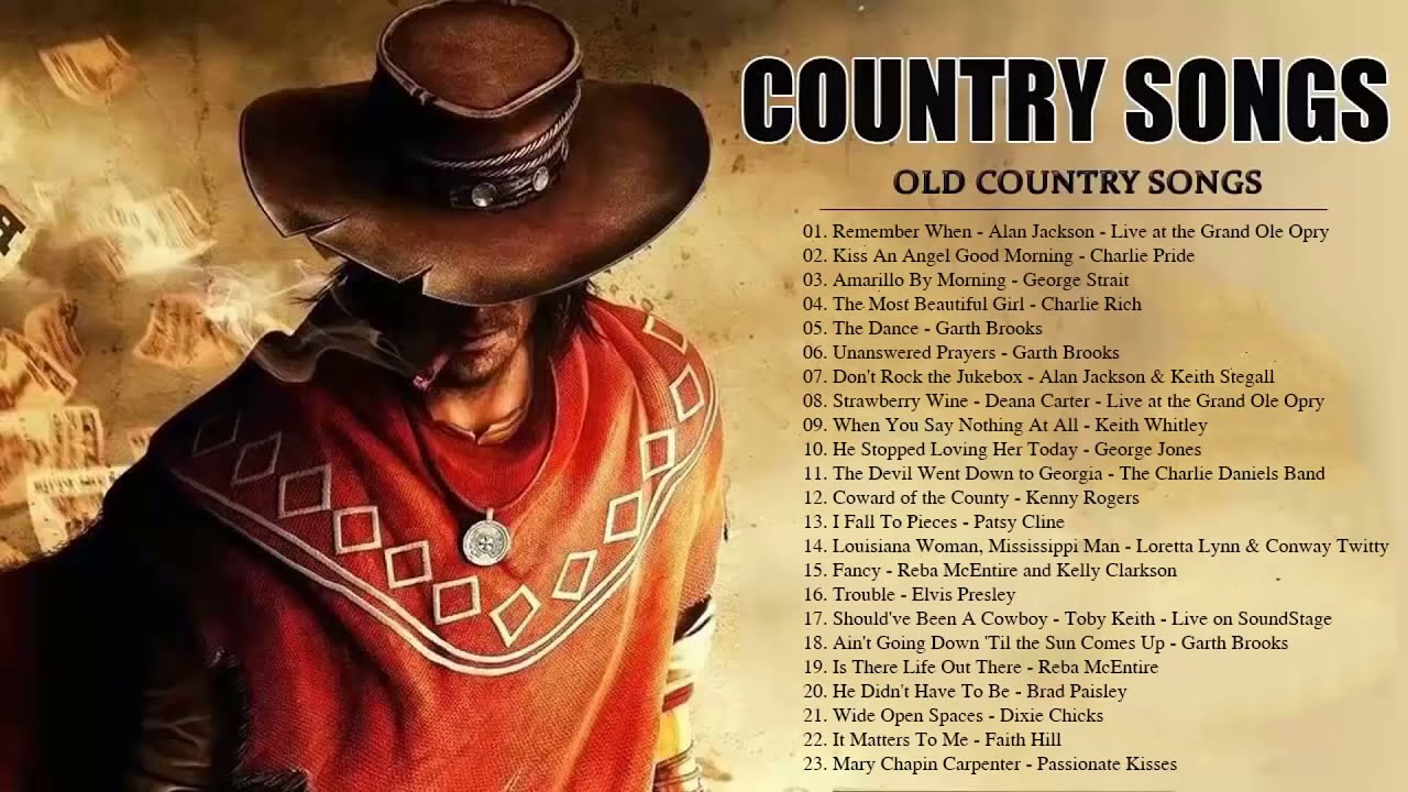 Best Old Country Songs Of All Time Old Country Music Collection Country Songs Classic Country Son Youtube
