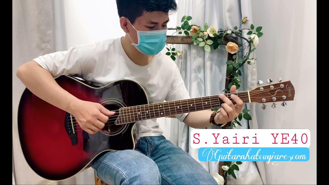 Guitar acoustic S.Yairi YE-40