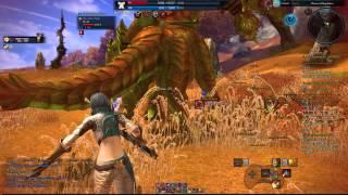 TERA PC Warrior vs Naga & Kuma