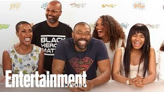 'Black Lightning' Cast Compare The CW Series To Other Superheroes | SDCC 2017 | Entertainment Weekly
