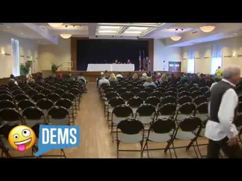 Connecticut Democrat forums lack people and sanity | WTNH News 8 (CT GOP)