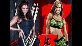 WWE '13: AJ Lee vs Stephanie McMahon
