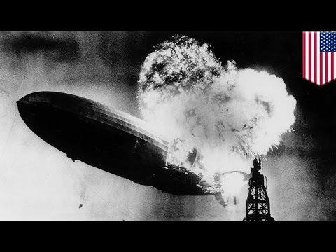 Hindenburg explosion: events leading up to Hindenburg disaster and end of airship era - TomoNews