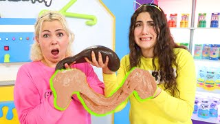 MAKE THIS SLIME UGLY, THEN SWAP AND FIX IT CHALLENGE! Slimeatory #648